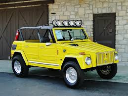 volkswagen thing this yellow rx 7 rotary powered vw thing can be yours