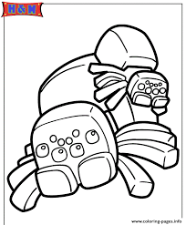 spiders minecraft video game coloring pages printable