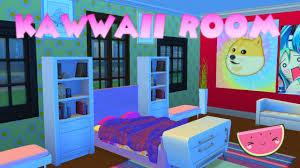 sims 4 kawaii room build youtube sims 4 kawaii room build