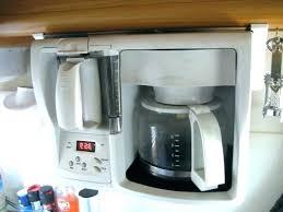 best under cabinet coffee maker coffee maker cabinet coffee maker