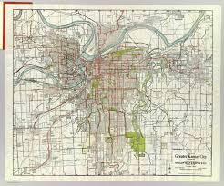 Map Of Tulsa Greater Kansas City David Rumsey Historical Map Collection
