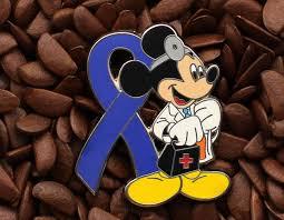 mickey ribbon blue ribbon pins mickey mouse doctor pin affordable limited