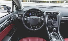 ford fusion titanium 2015 2015 ford fusion titanium awd steering wheel photo on automoblog