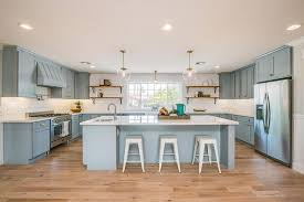 Kitchen Cabinets With Pulls Barn Wood Kitchen Shelves With Swing Arm Sconces Contemporary
