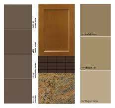 what color cabinets go with brown granite s corner warm or cool paint colors