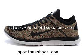 Mens Nike Free 4 0 Flyknit Running Shoes Brown Black 03 Jpg