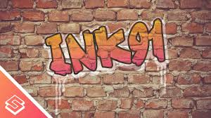 inkscape for beginners graffiti on a brick wall youtube