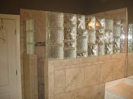 glass block designs for bathrooms glass block u0026 tile shower wall glass block pinterest tile