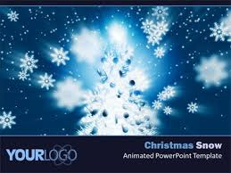 14 best photos of snow animated powerpoint templates free