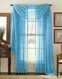 Turquoise Ruffle Curtains Aqua Blue Curtains U2013 Teawing Co