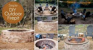 How To Build Your Own Firepit How To Build Your Own Pit Home Design Garden
