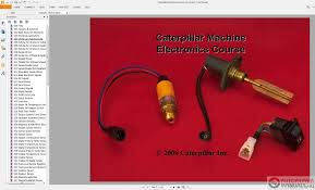 caterpillar service manual schematic parts manual operation and