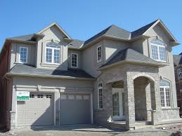 Home Design Building Blocks by Burlington New Home Stucco And Stone Application Building