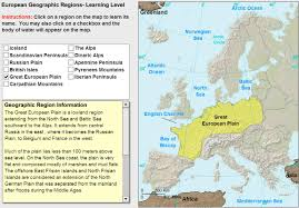 Interactive Map Of Europe by Interactive Map Of Europe Geographic Regions Of Europe Tutorial