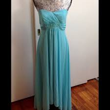 73 off david u0027s bridal dresses u0026 skirts pool blue high low