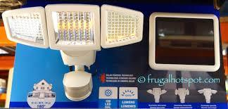 costco wireless motion sensor led lights costco sale sunforce solar motion activated security light 29 99