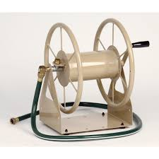 best wall mounted hose reel shop liberty garden products steel 5 ft wall mount hose reel at