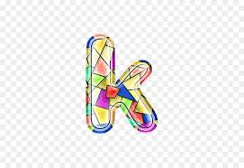 butterfly shoe font stained glass letter k png 513