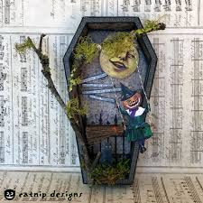 artistic catnip a couple of handmade halloween decorations