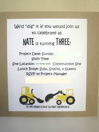 embellishing life this little guy u0027s construction party invite