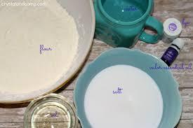 homemade play dough recipe with essential oils