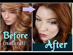 Washing Hair After Coloring Red - how i get my red ginger auburn hair color youtube