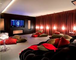 Blackout Curtains For Media Room Great Blackout Curtains For Media Room Ideas With Curtain Best