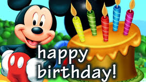mickey mouse birthday happy birthday songs mickey mouse singing