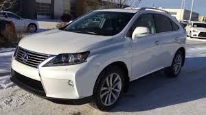 lexus 450h 2015 white 2015 lexus rx 450h awd sportdesign edition executive demo