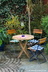 Simple Patio Design Small Bistro Patio Design