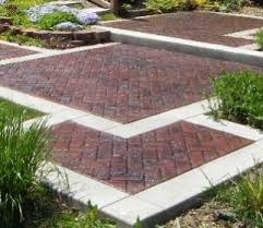 Stamped Concrete Backyard Ideas Kelly Designs In Concrete U2013