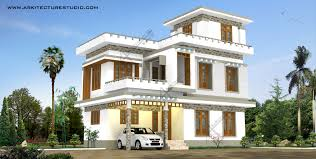 new house design 2017 home designing sqfeet 4 bedroom villa