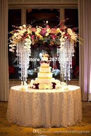 wedding stage decoration party crystal wedding floor stand walkway
