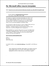 microsoft office resume 6 resume wizard cover letter mba