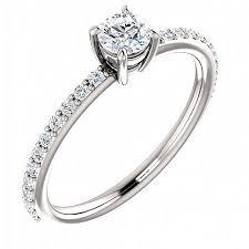 inel diamant inel din aur alb 14k cu diamant 0 25 ct marime 49 emag ro