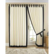 Curtains With Tabs Tab Tops Cotton Simple Ways To Spruce With Tabs Dashing Valance