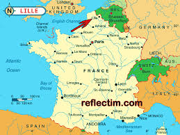 Detailed Map Of France by Map Of France Archives Travel