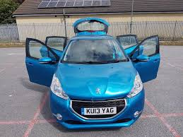 peugeot 208 cabriolet for sale used 2013 peugeot 208 active hdi 5dr nil tax 83mpg bluetooth