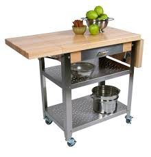 stainless steel kitchen island with butcher block top boos kitchen work table boos wine cart boos stainless