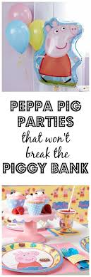 piggy bank party favors peppa pig party piggy bank decorating use decorative permanent