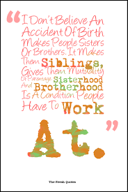fun thanksgiving quotes i don u0027t believe an accident of birth makes people sisters or
