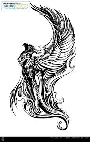 tribal phoenix tattoo designs wallpaperpool