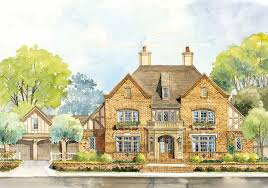 classic english country home plan 56144ad architectural