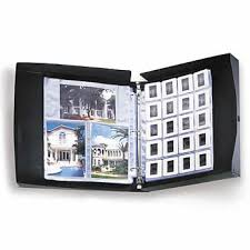 archival photo album archival storage box w binder coin currency albums