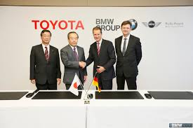 toyota motor group bmw and toyota sign agreement for fuel cell system sports vehicle