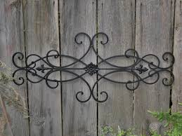 interesting design wrought iron outdoor wall decor sweet
