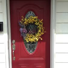 forsythia wreath wreath flower wreath decorative wreath home decor