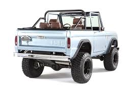 early model ford bronco builds classic ford broncos