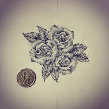 best 25 small rose tattoos ideas on pinterest small rose small