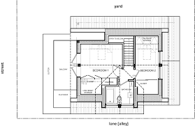 Energy Efficient Homes Floor Plans A Laneway House For Young Family Lanefab Small Bliss Lower Floor